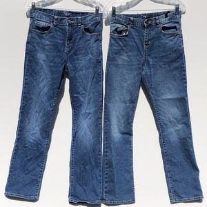 Old Navy Straight Fit Jeans Boy's 16 Medium Rinse